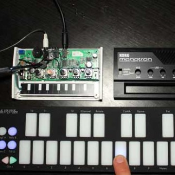 Modifying Monotron to work with QuNexus