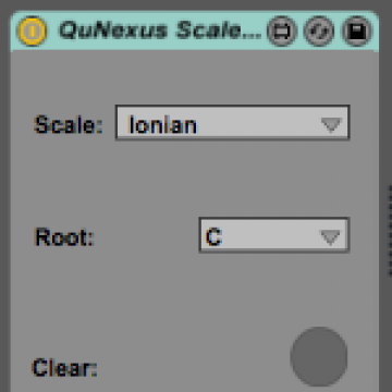 QuNexus Scales Mode