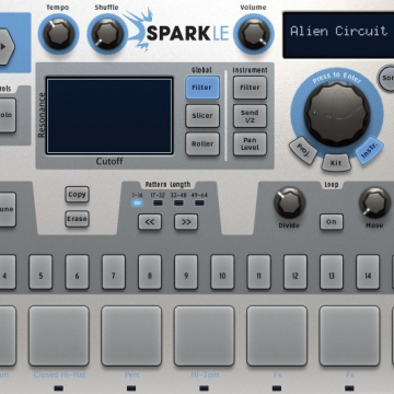 QuNeo Arturia Spark Mappings