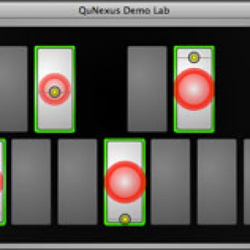 QuNexus Demo Lab Sensor View