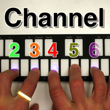 QuNexus Channel Rotation Ableton Live Set