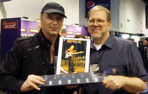 Billy Sheehan uses 12 Step
