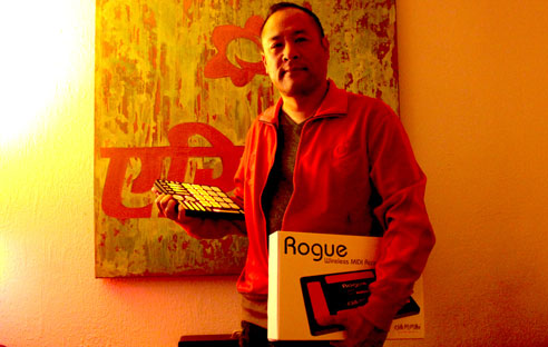 Dan The Automator uses QuNeo