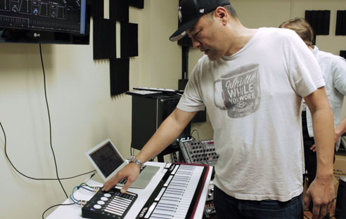 Dan The Automator uses K-Board Pro 4