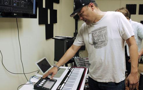 Dan The Automator uses K-Board Pro 4