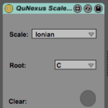 QuNexus Scales Mode