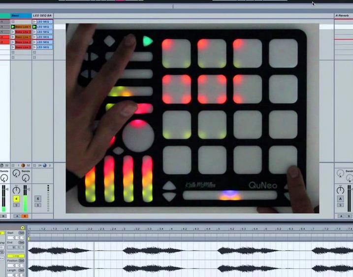 QuNeo Ableton Live Control