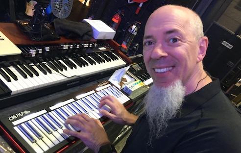 Jordan Rudess uses K-Board Pro 4