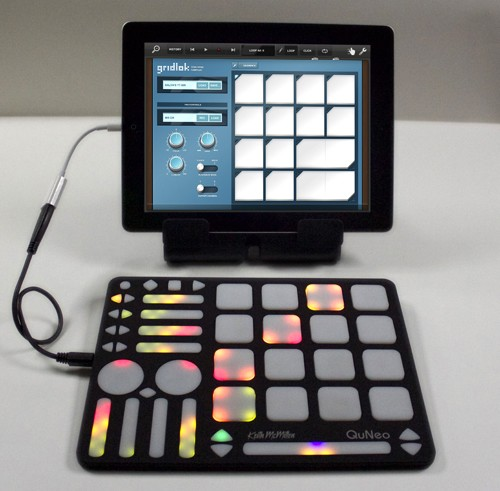 QuNeo iPad Integration