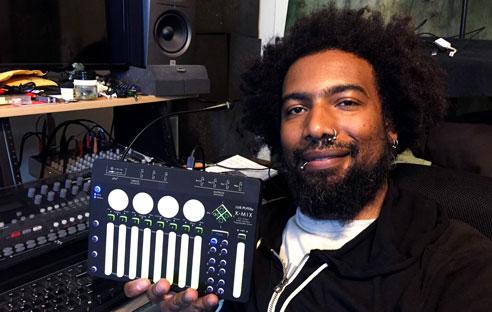 Thavius Beck uses K-Mix
