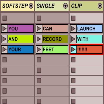 Softstep Single Clip