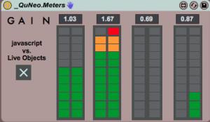 QuNeo Meters Device