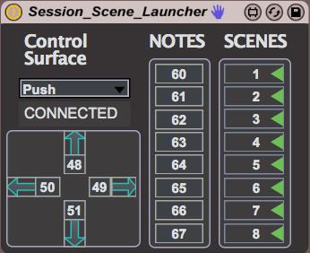 Session Scene Launcher