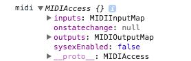 MIDIAccess