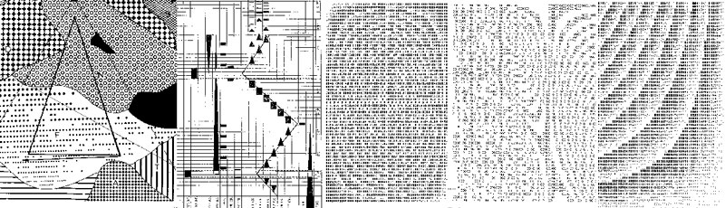 Graphic scores of early computer music at EMS.