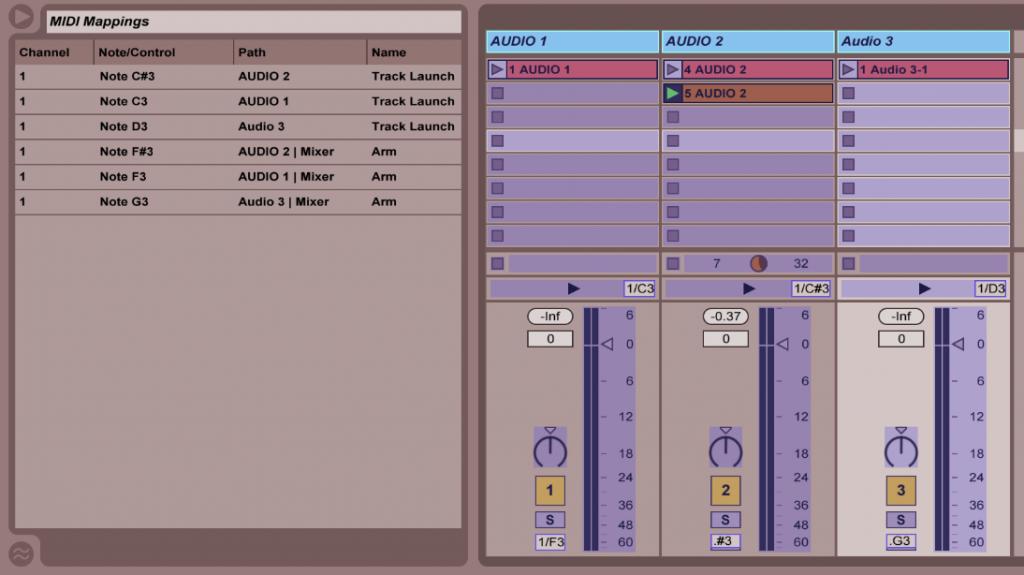 MIDI Mapping 1