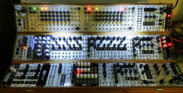 Craig Padilla's MST/Division 6 modular synthesizer