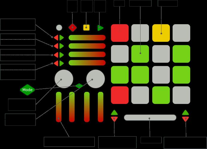 E3 QuNeo for Bitwig Studio