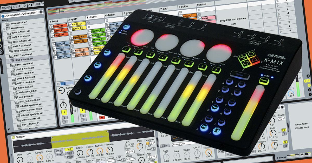 K-Mix / Ableton Live Remote Script (v1.2)