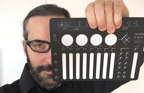 Marc Urselli uses K-Mix